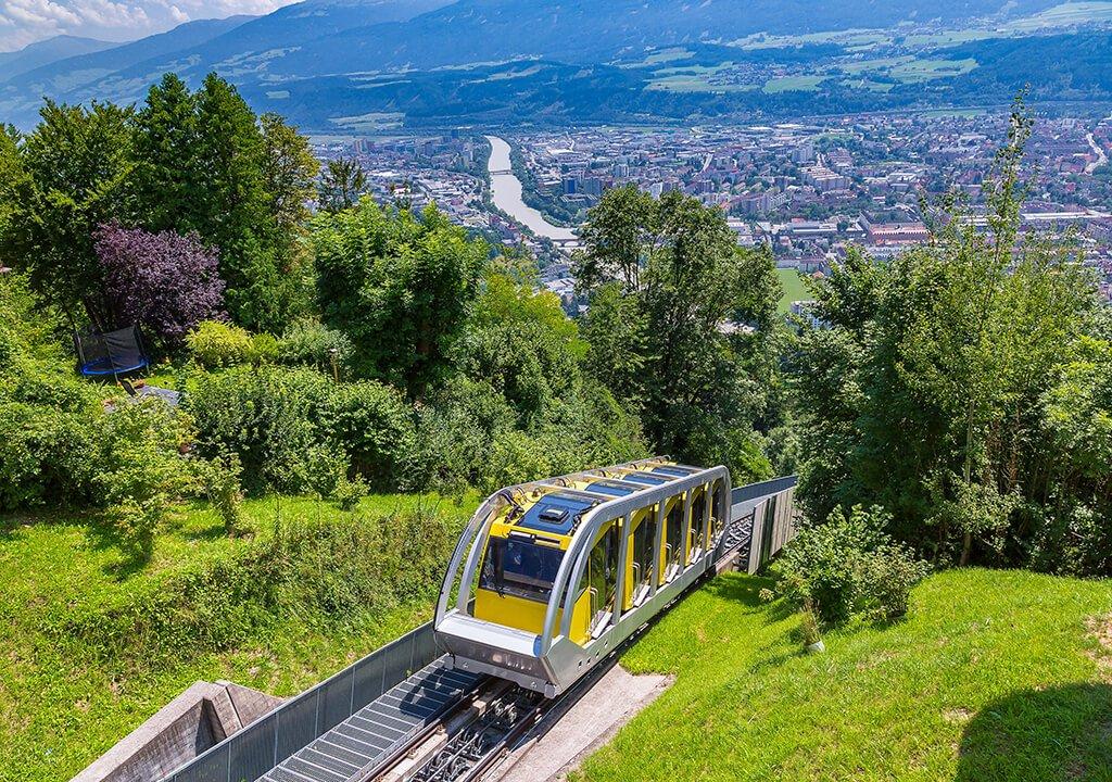 Funicular Hungerburg - que ver en Innsbruck