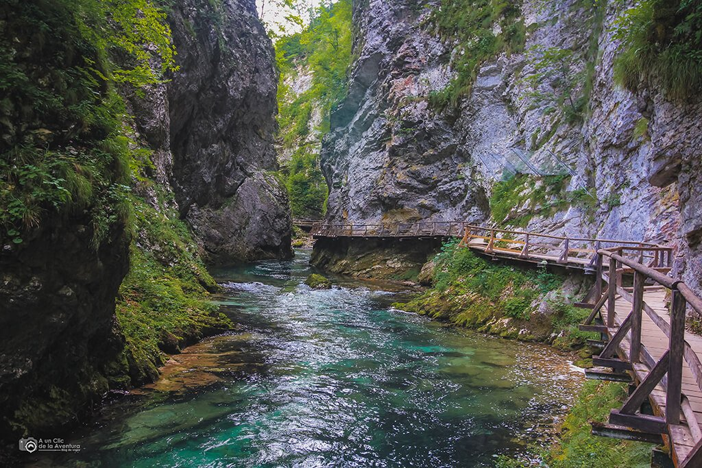 Garganta Vintgar, viajar en coche a Eslovenia
