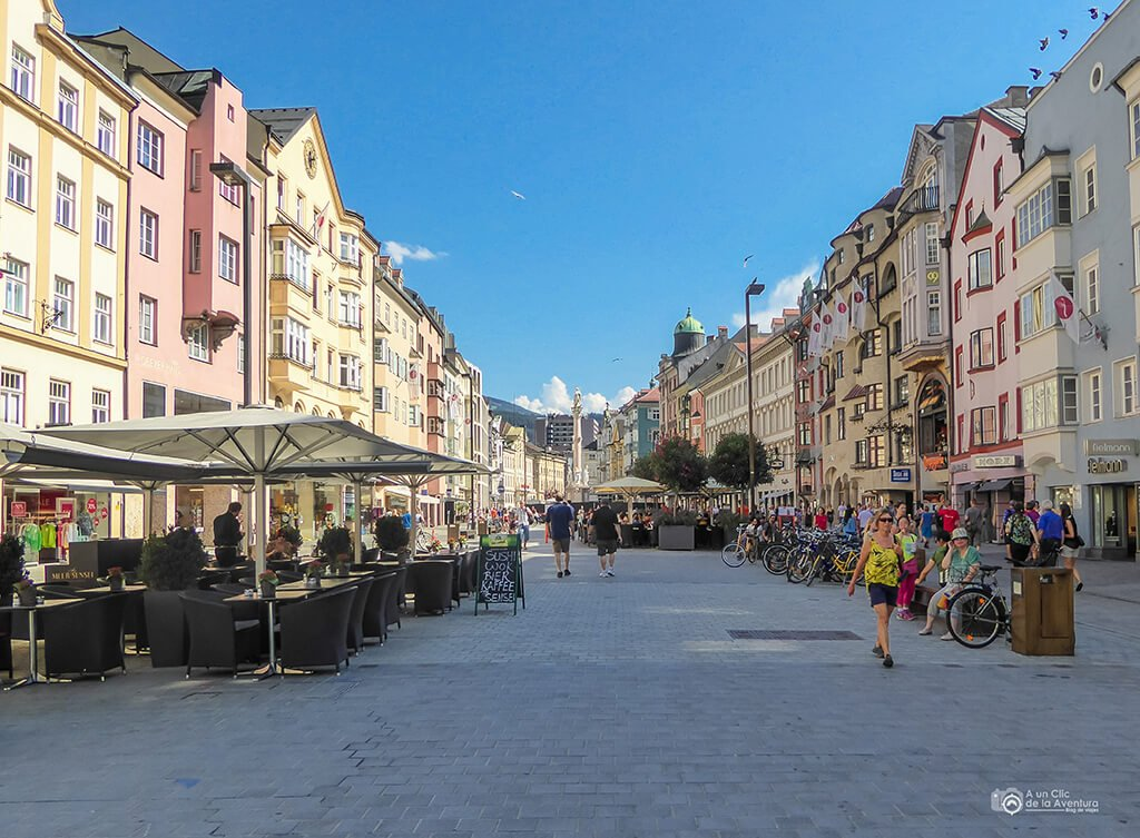Calle Maria-Theresien Strasse - que hacer en Innsbruck