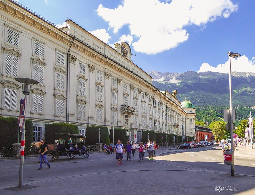 Palacio Imperial Hofburg - que ver en Innsbruck