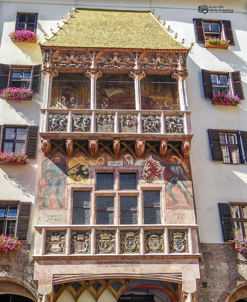 Tejadillo de Oro -que hacer en Innsbruck