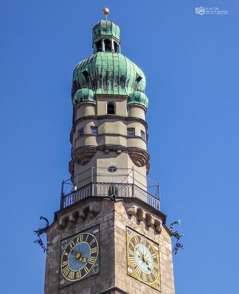 Torre de la Ciudad - que hacer en Innsbruck