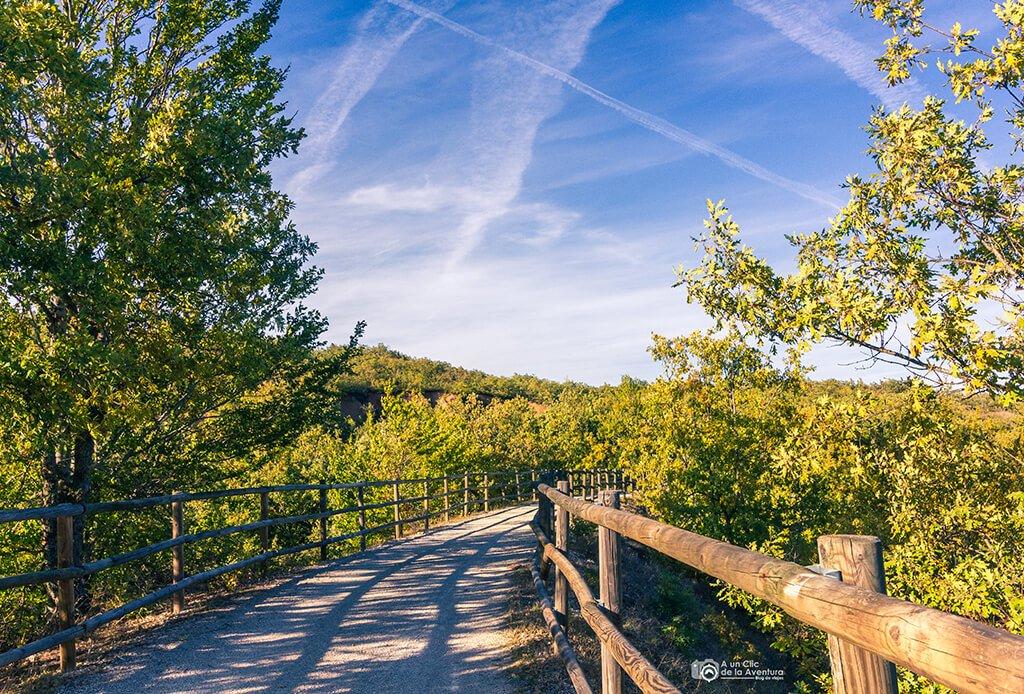 Vía Verde de la Sierra de la Demanda. Rutas por la Sierra de la Demanda