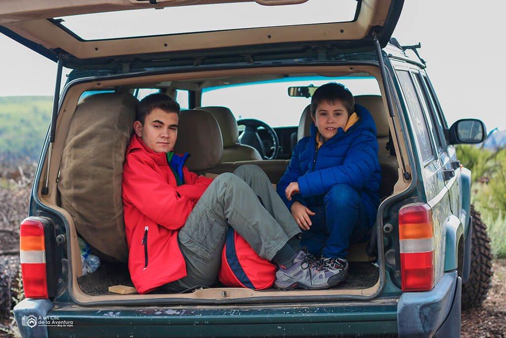 roadtrip en familia, viajar en coche