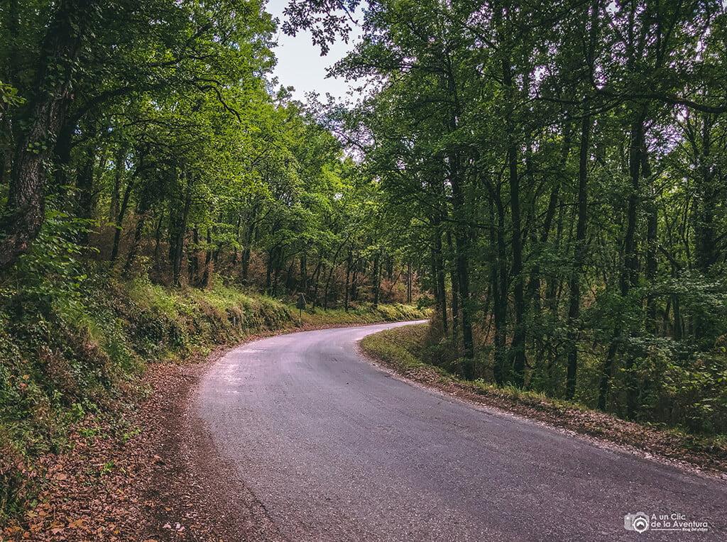 viajar en coche en Aveyron, Francia