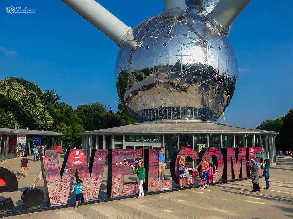 Bruselas en nuestro viaje a Bélgica en familia