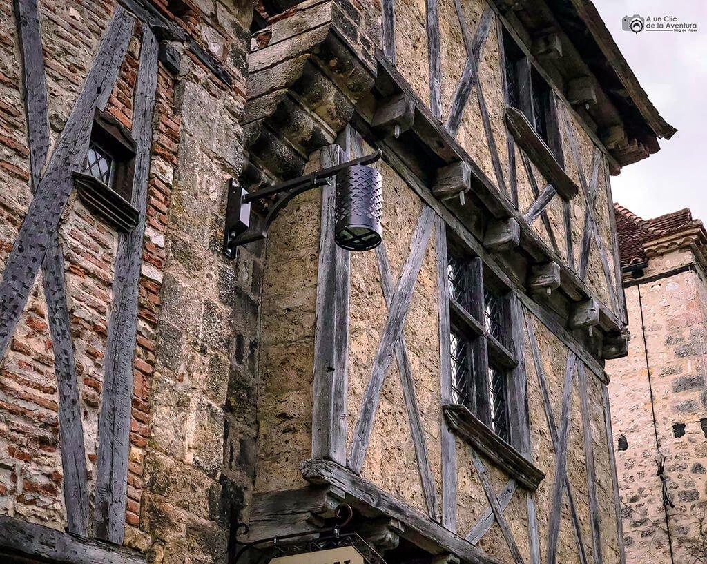 Arquitectura tradicional de Saint-Cirq Lapopie