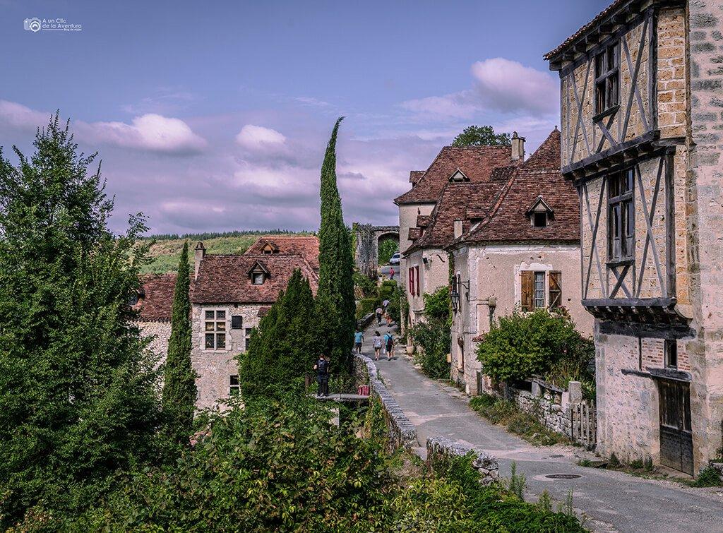 Calle de la Pelissaria - rue de la Pelissaria, que ver en Saint-Cirq Lapopie