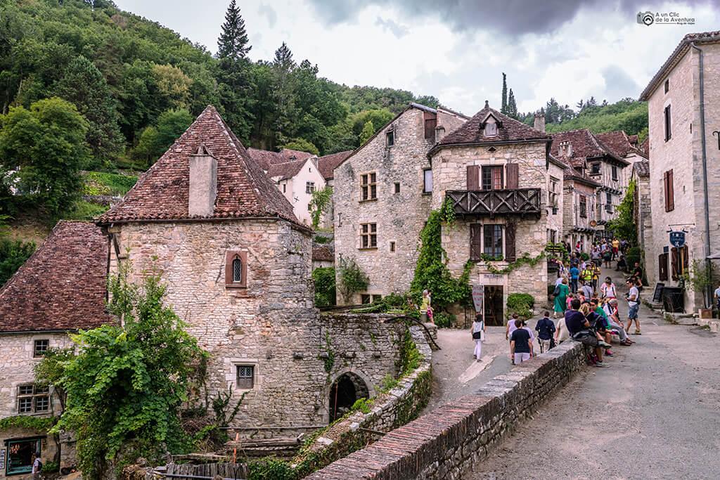 Calles de Saint-Cirq Lapopie