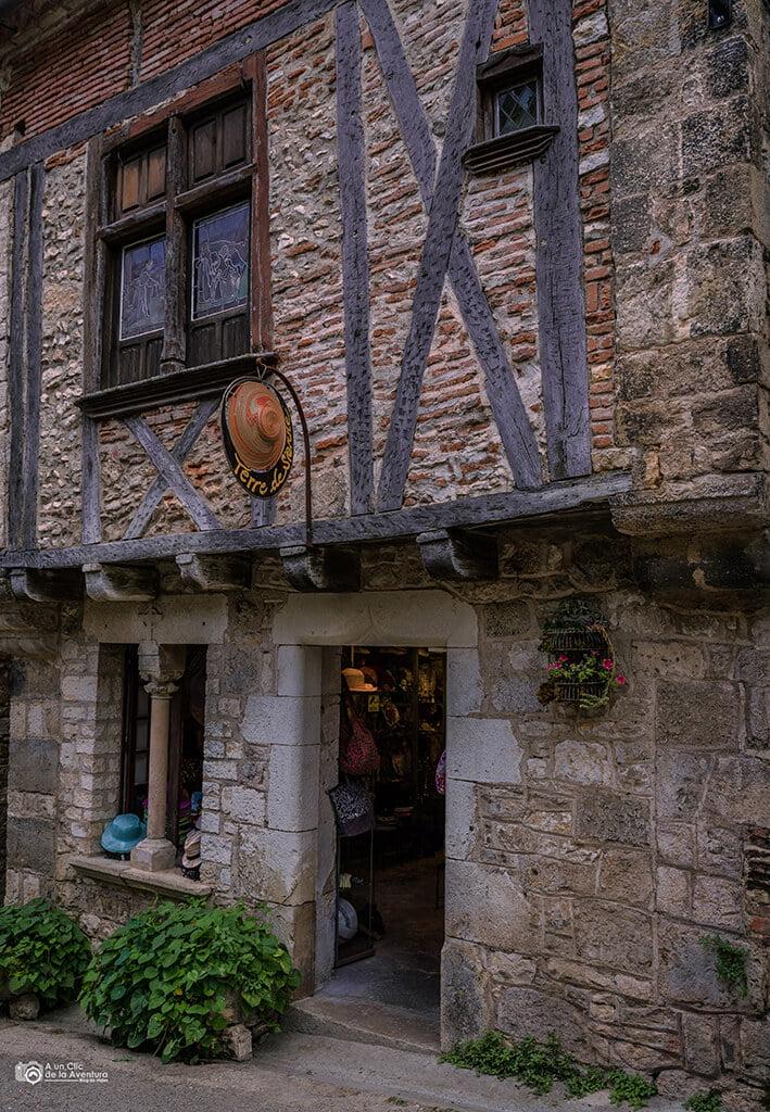 Casa medieval que ver en Saint-Cirq Lapopie