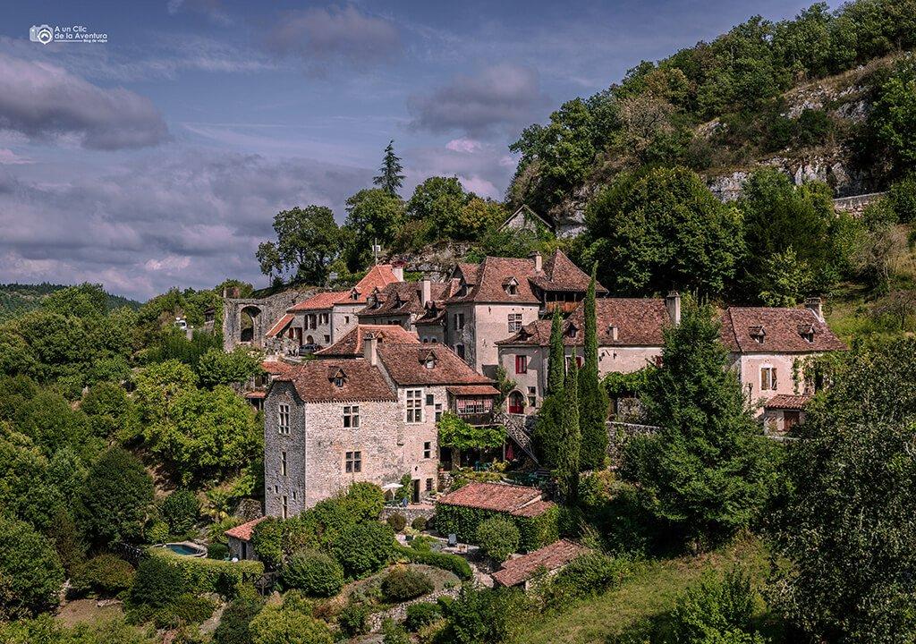 Casas de Saint-Cirq Lapopie