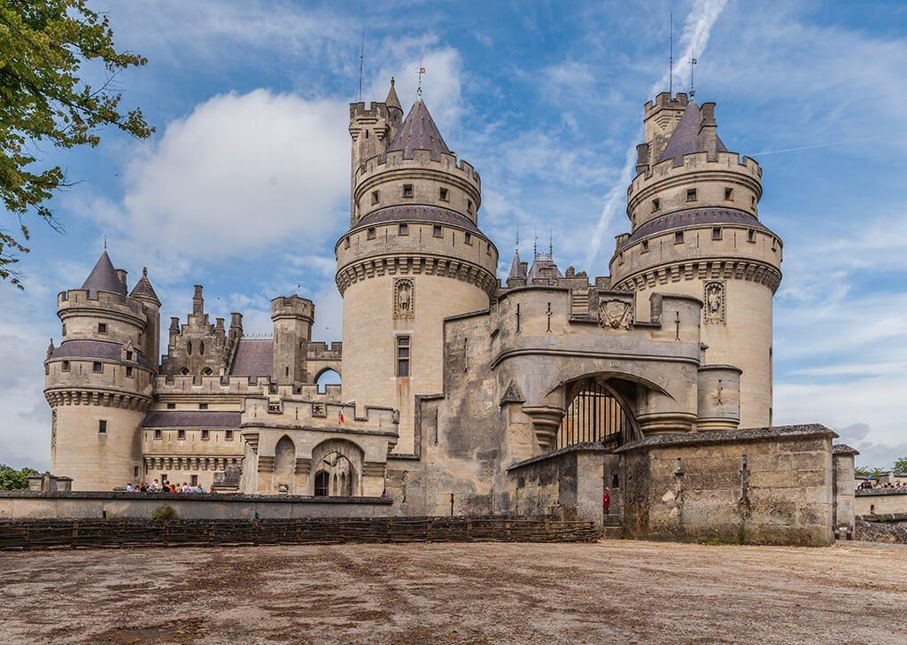 Castillo de Pierrefonds - que ver cerca de París