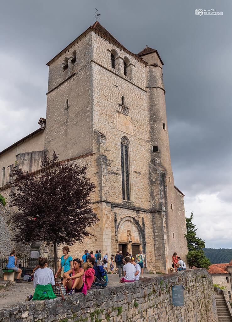Iglesia de Saint-Cirq Lapopie