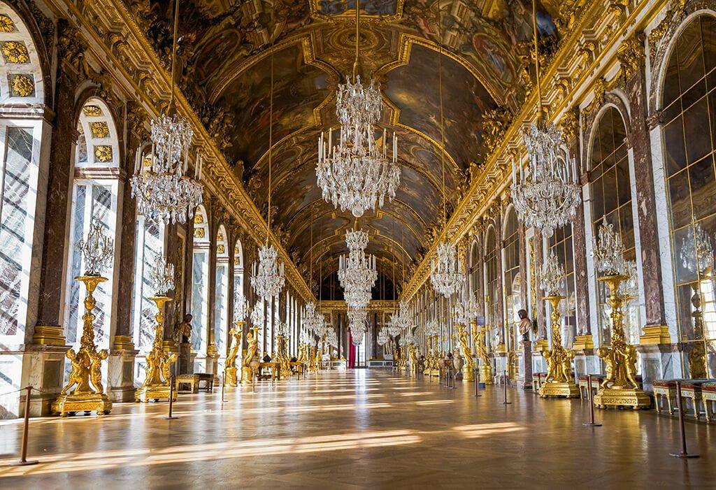 Galería de los Espejos del Palacio de Versalles - que ver cerca de París
