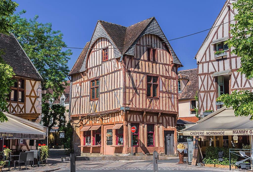 Centro histórico de Provins - que ver cerca de París