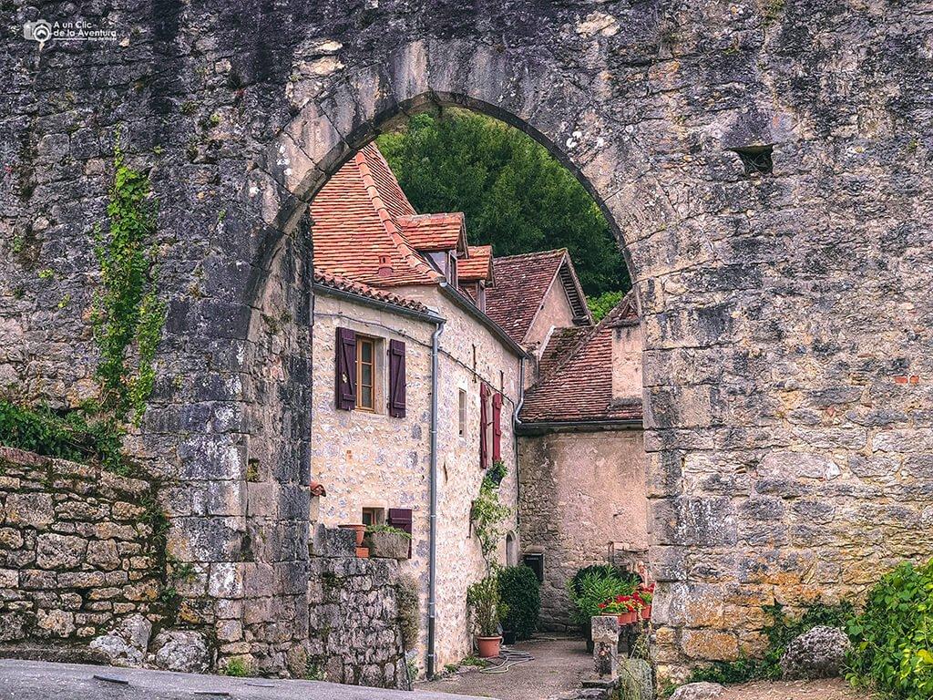 Puerta de la Pelissaria - Porte de la Pelissaria, que ver en Saint-Cirq Lapopie