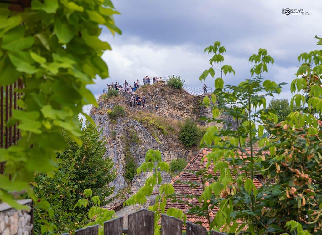 La roca de la Popie, que ver en Saint-Cirq Lapopie