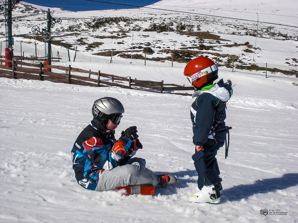 Estación de esquí de Alto Campoo, Cantabria con niños