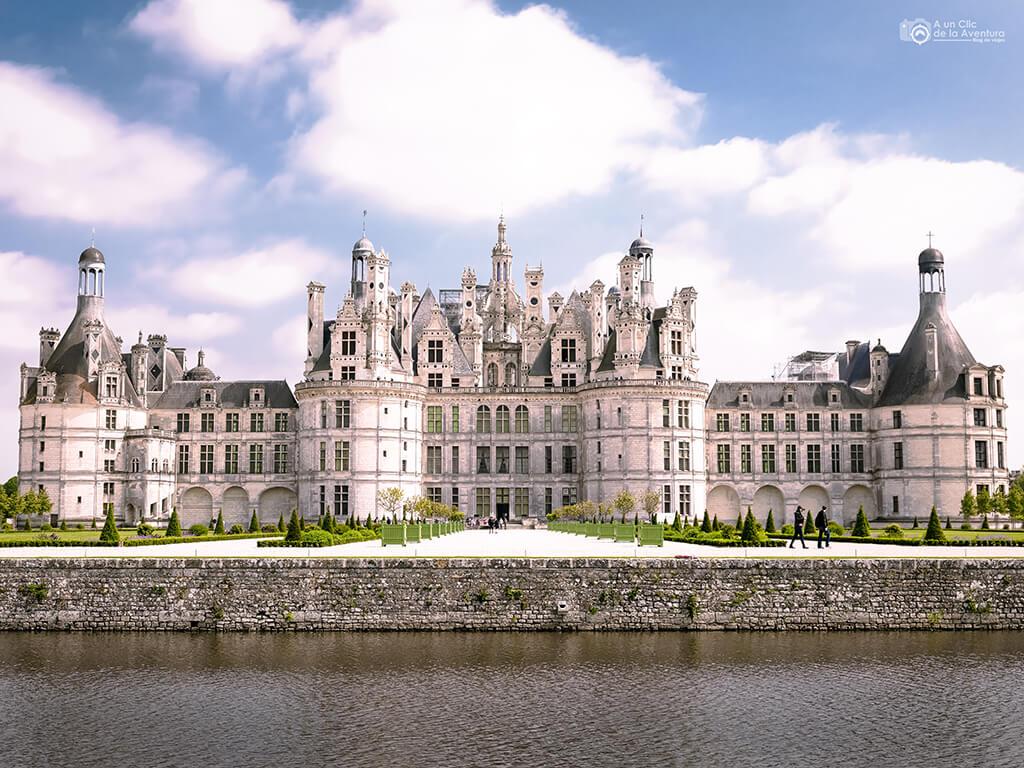 Castillo de Chambord, Viajar a Francia