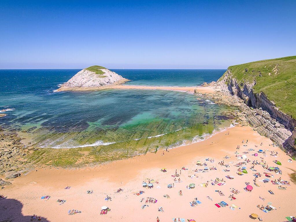Playa de Covachos - Playas de Cantabria