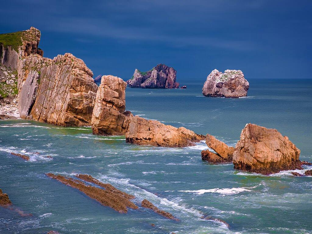 Playa de La Arnía - Playas de Cantabria
