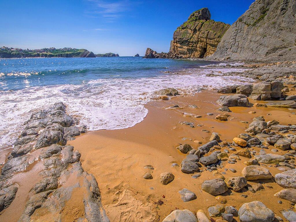 Playa de Portio - Playas de Cantabria