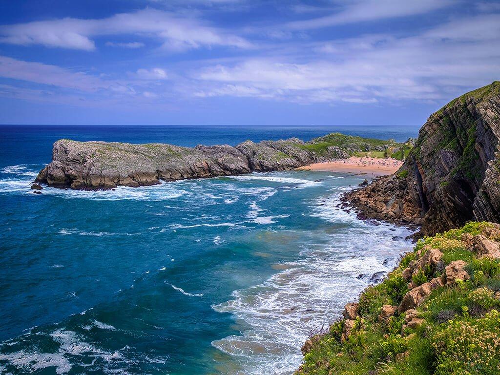 Playa de Somocuevas - Playas de Cantabria