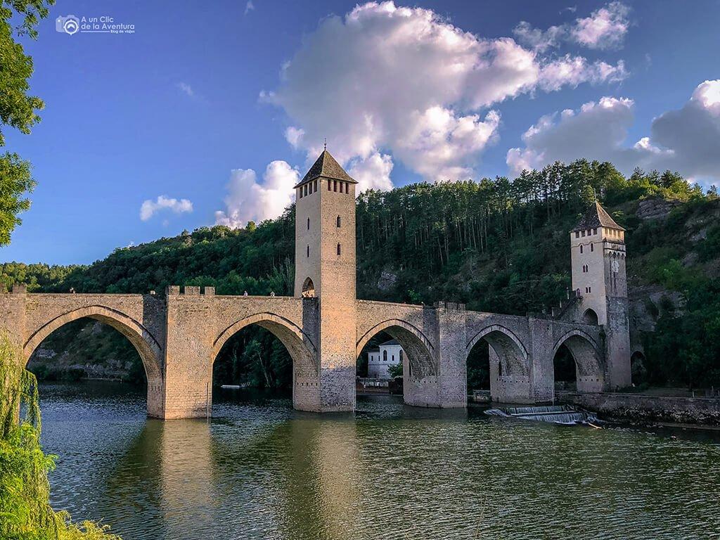 Puente Valentré en Cahors, Viajar a Francia