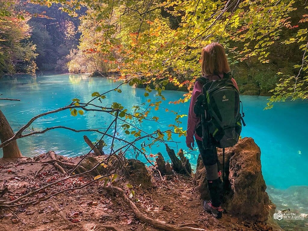 Río Urederra, ruta de las cascadas de Baquedano