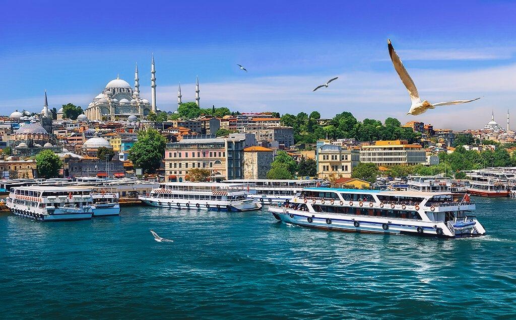 Vistas de Estambul desde el Bósforo - Cómo llegar del aeropuerto de Estambul al centro