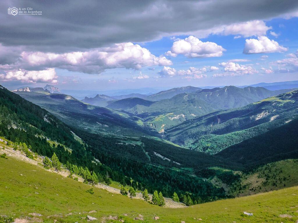 Valle de Vió, Miradores de Ordesa