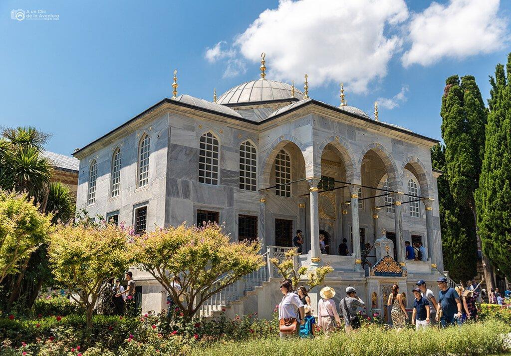 Biblioteca de Ahmet III del Palacio de Topkapi de Estambul - visitar el Palacio de Topkapi