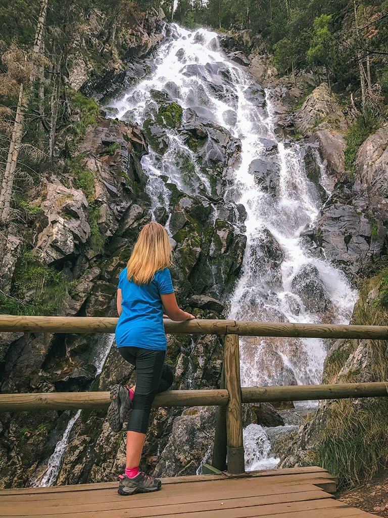Cascada de Gerber en el Pirineo Catalán- Cascadas del Pirineo Catalán