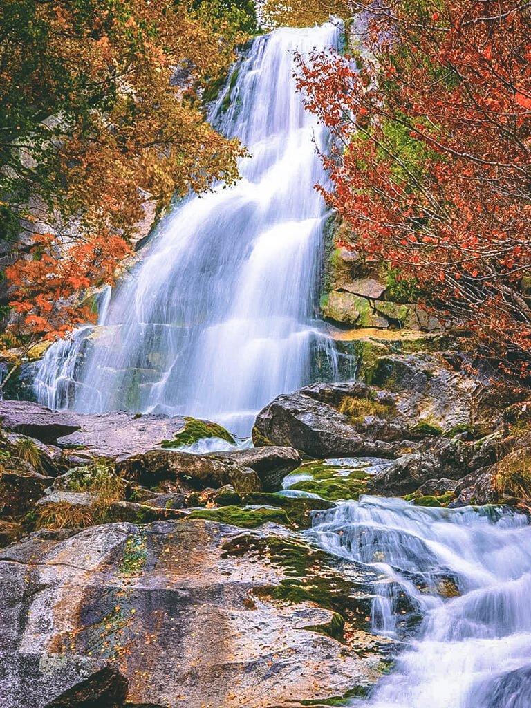 Cascada o Gotér de Molières- Cascadas del Pirineo Catalán