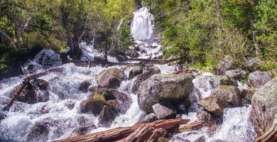 Cascada de Ratera en el Parque Nacional de Aigüestortes - Cascadas del Pirineo Catalán