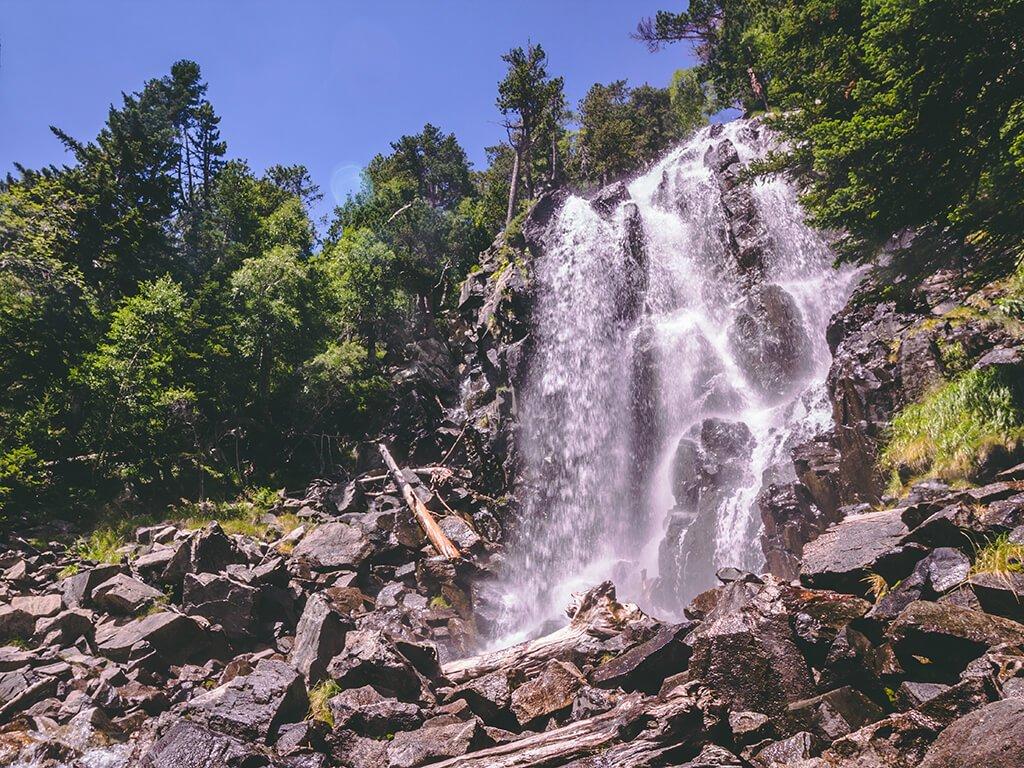 Cascada de Ratera, Parque Nacional de Aigüestortes i Estany de Sant Maurici - Cascadas del Pirineo Catalán