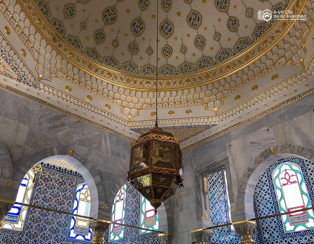 Decoración del Palacio de Topkapi de Estambul - visitar el Palacio de Topkapi