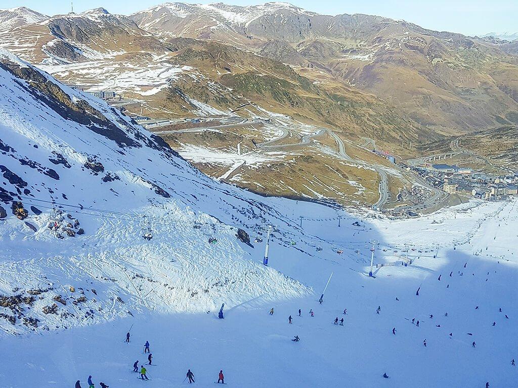 Estación de esquí de Vallnord en Andorra - esquiar en Andorra
