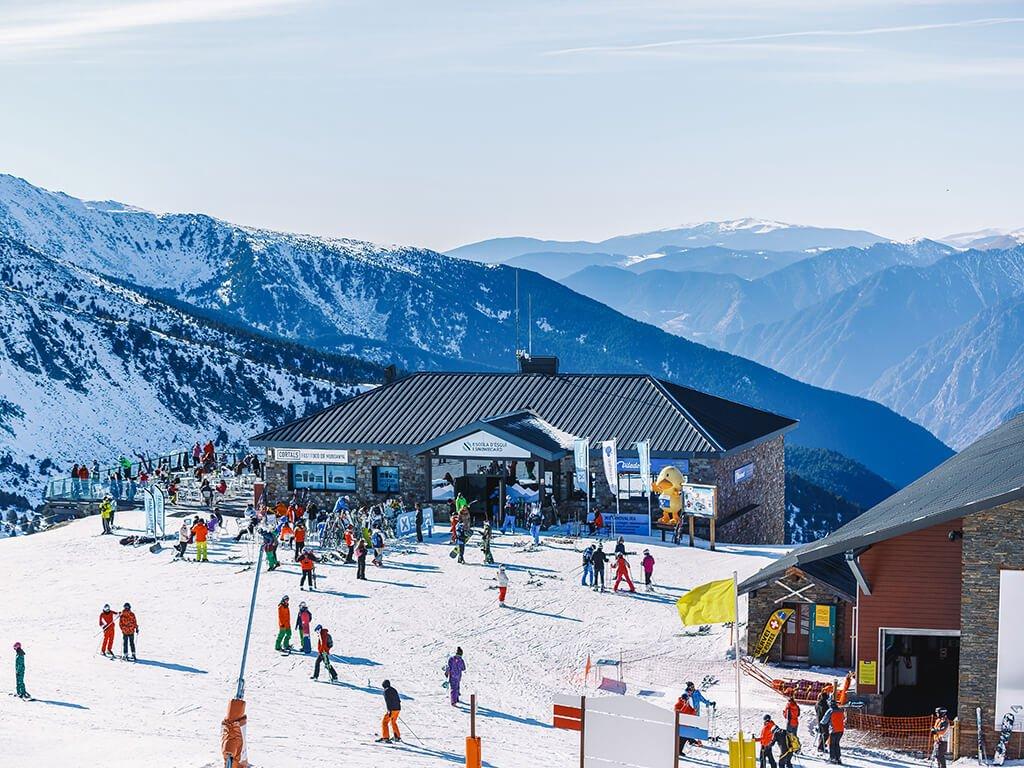 Estación de Grandvalira, Andorra - esquiar en Andorra