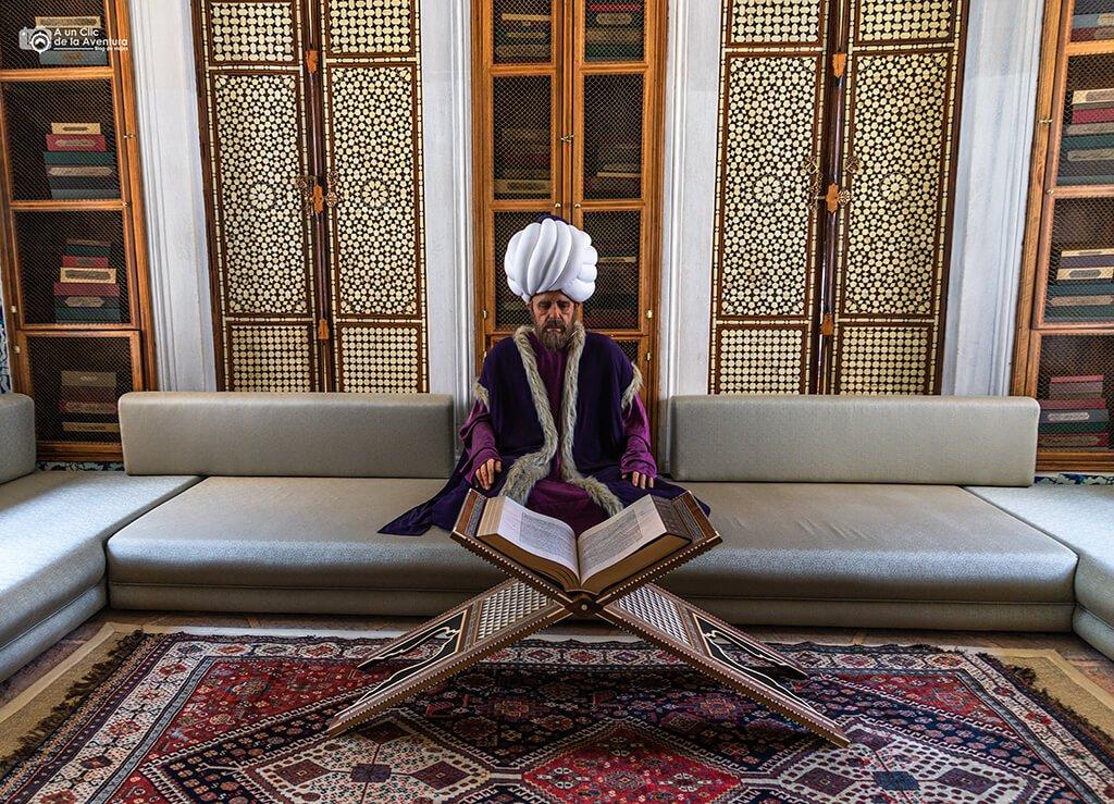 Interior de la Biblioteca de Ahmet III del Palacio de Topkapi - visitar el Palacio de Topkapi
