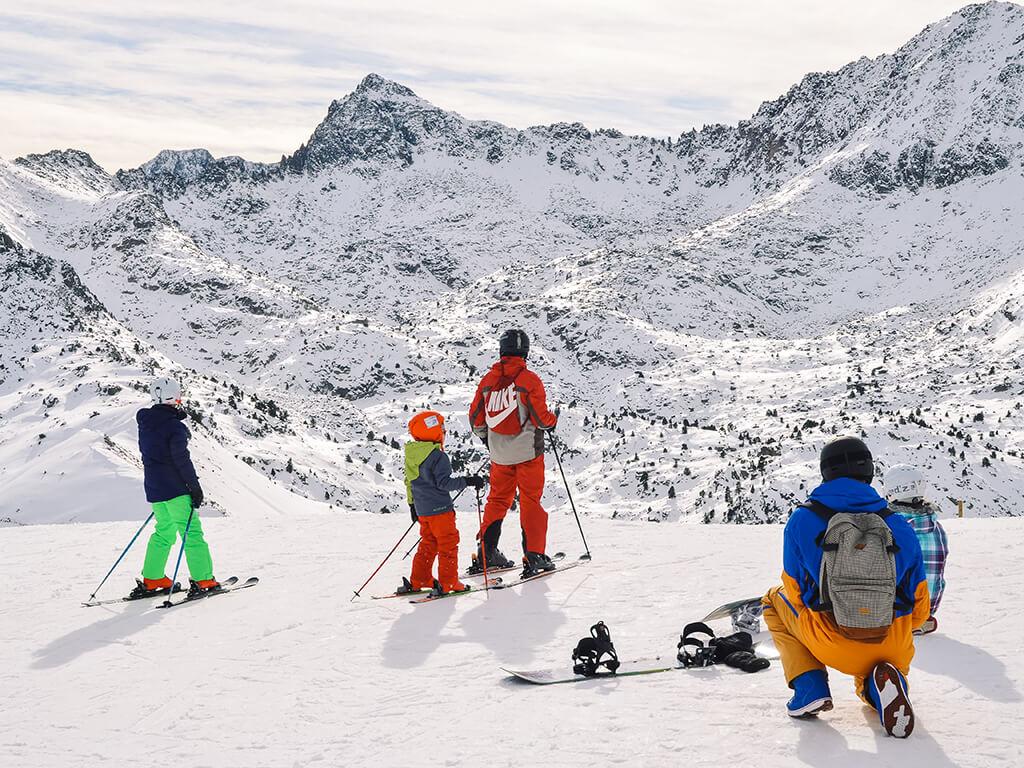 Les Escaldes, Andorra - esquiar en Andorra