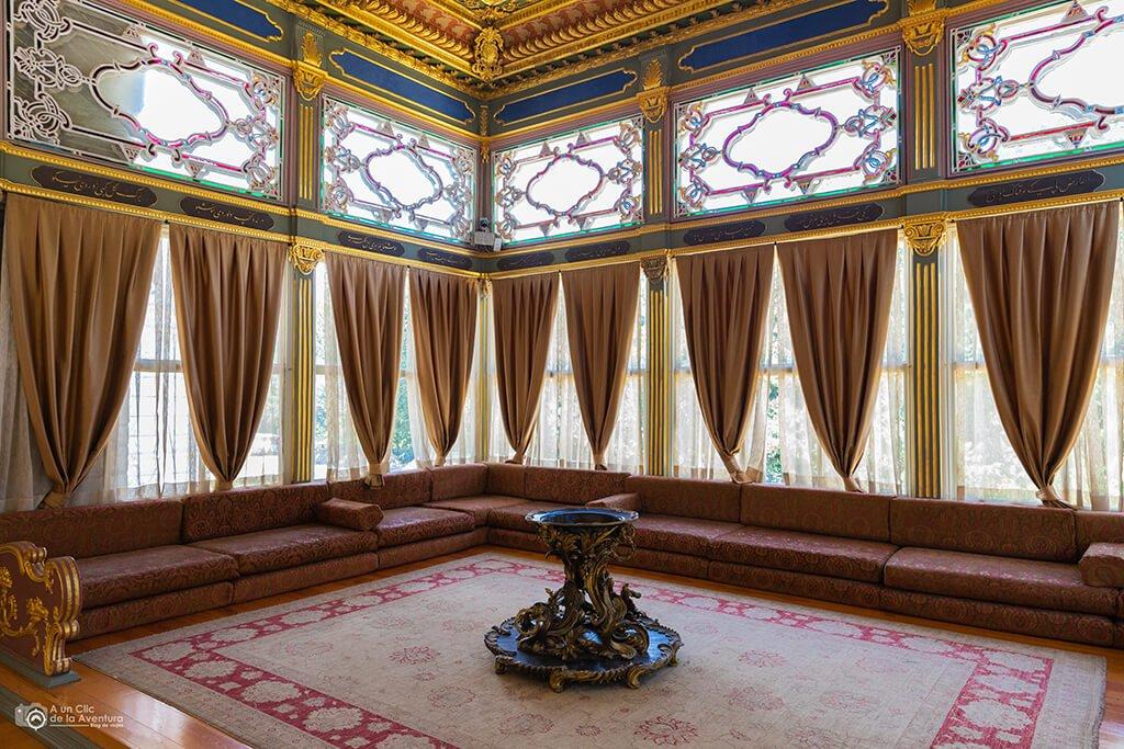Pabellón de Mustafa Pasha del Palacio de Topkapi en Estambul - visitar el Palacio de Topkapi