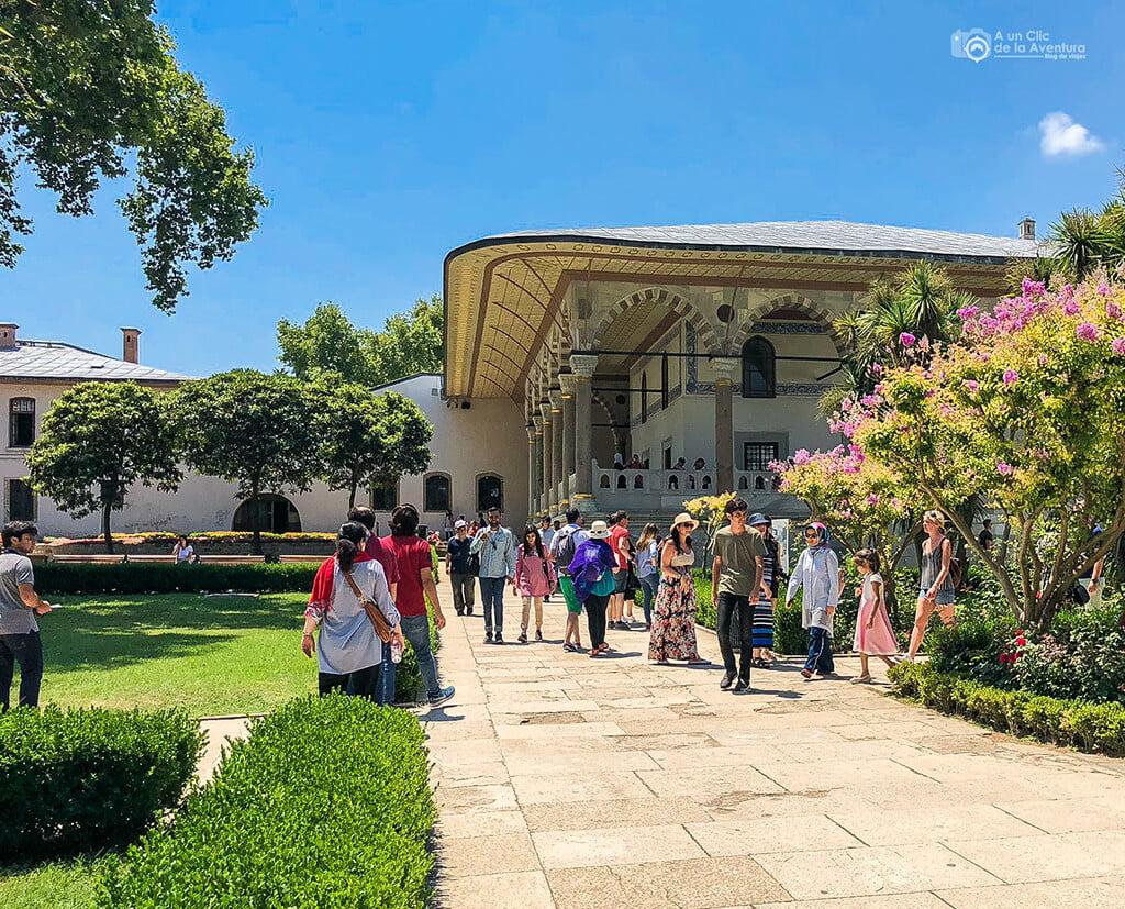 Sala de audiencias del Palacio de Topkapi en Estambul - visitar el Palacio de Topkapi