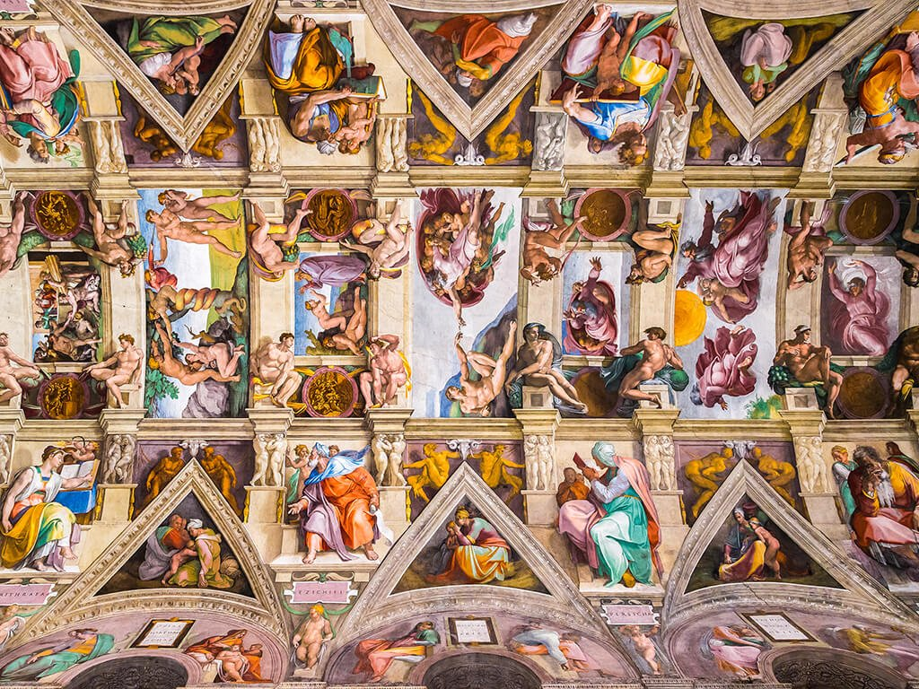 Pinturas de la Capilla Sixtina, Vaticano - Museos de Europa
