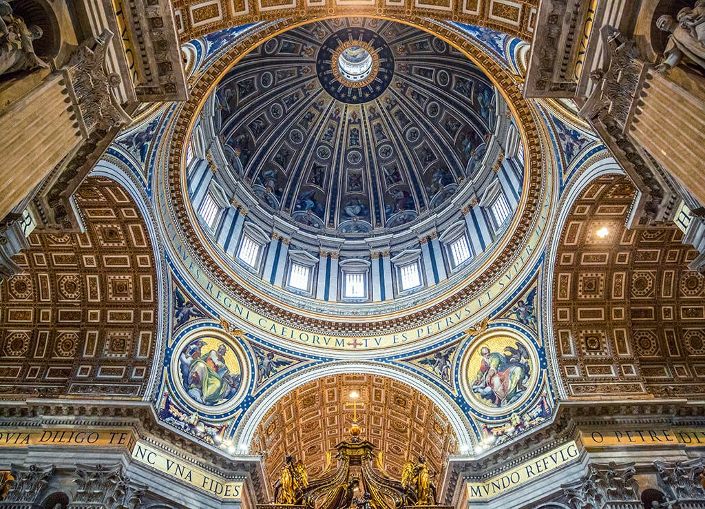 Cúpula de la Basílica de San Pedro - visitar el Vaticano