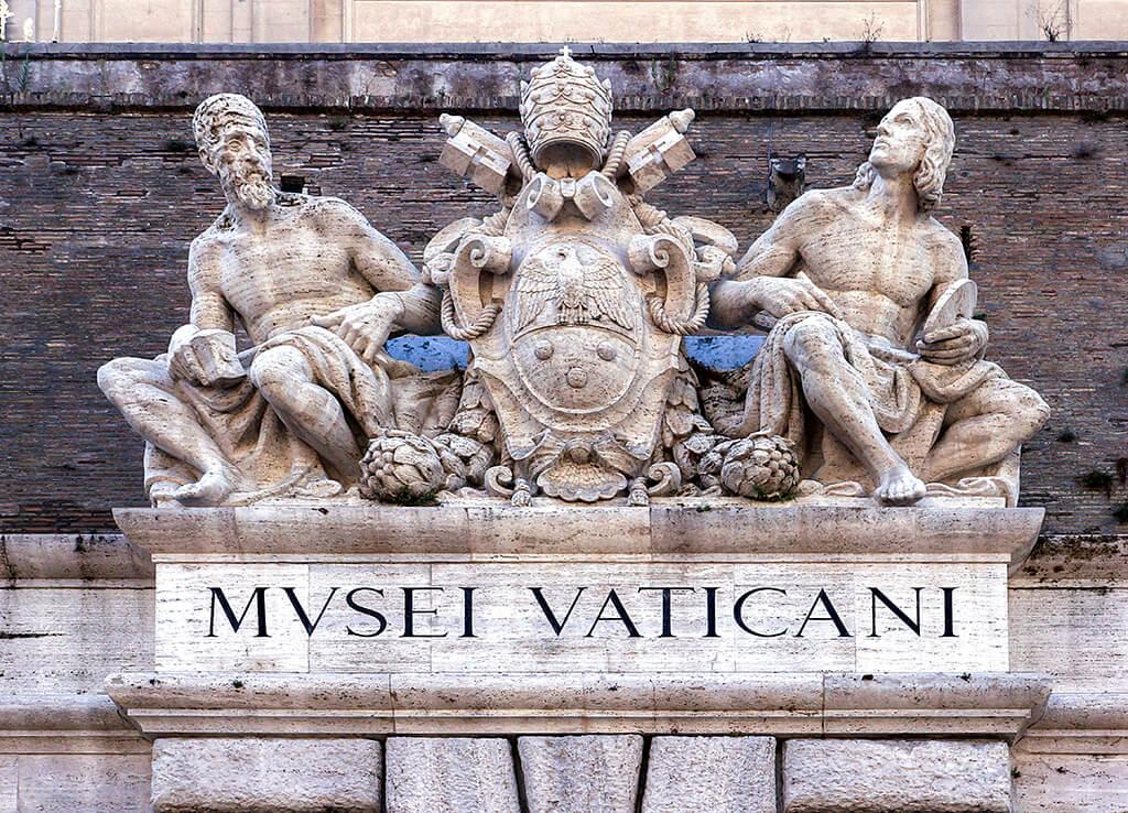Entrada a los Museos Vaticanos