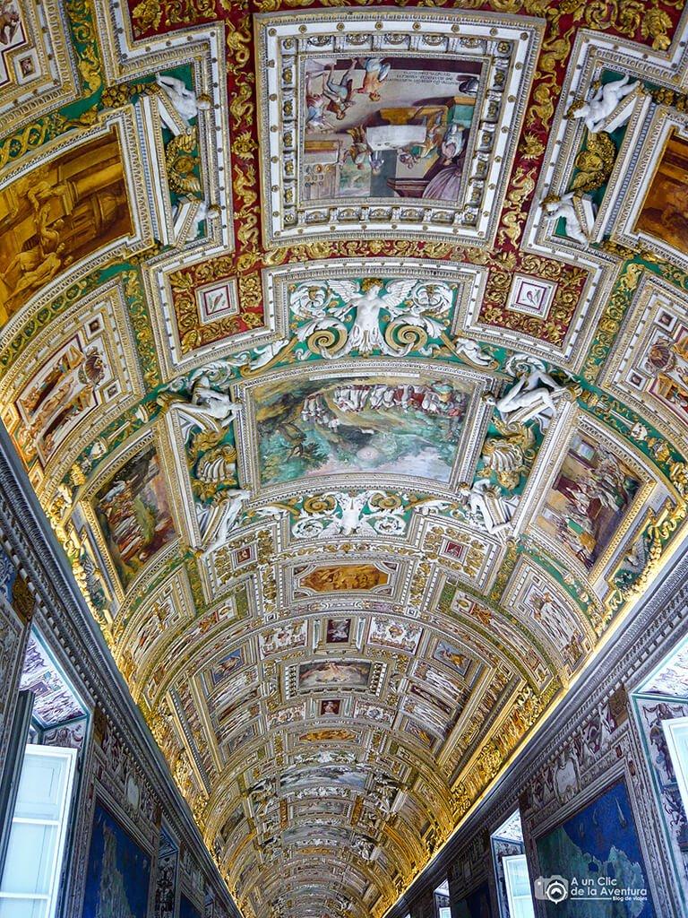 Galería de los Mapas Geográficos, Museos Vaticanos - visitar el Vaticano