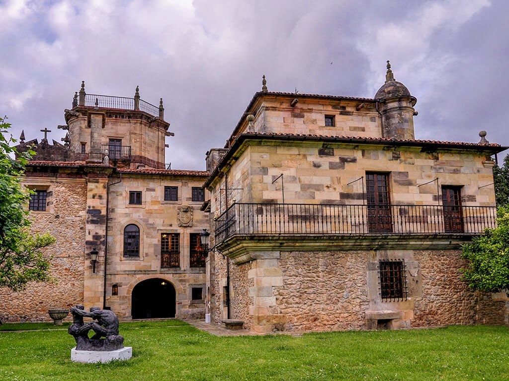 Palacio de Elsedo en Pámanes - palacios de Cantabria