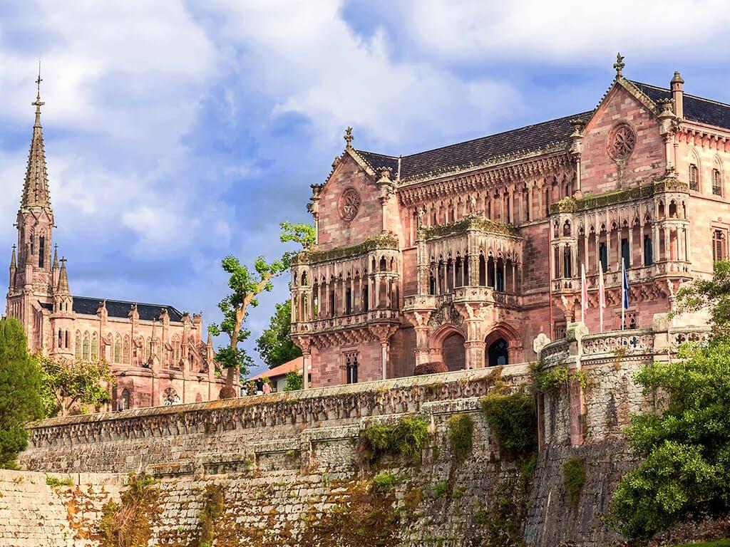 Palacio de Sobrellano en Comillas - palacios de Cantabria