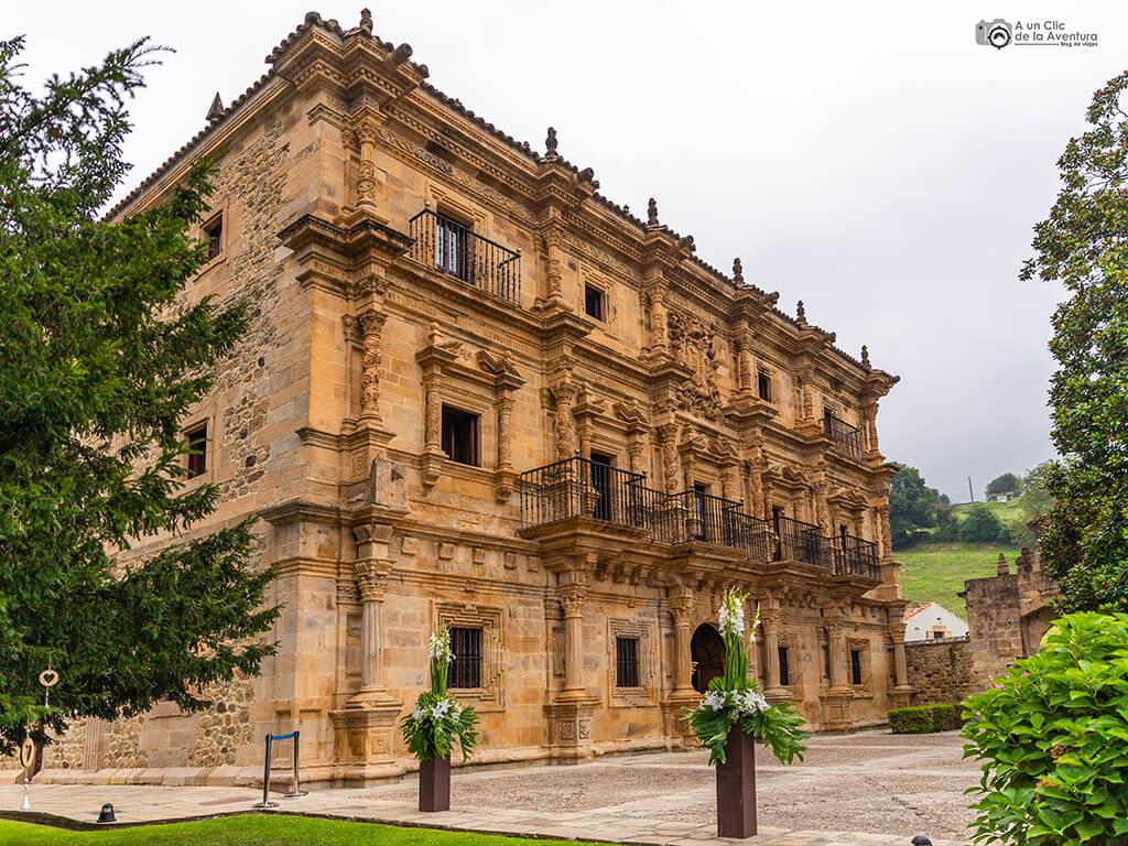 Palacio de Soñanes en Villacarriedo - palacios de Cantabria